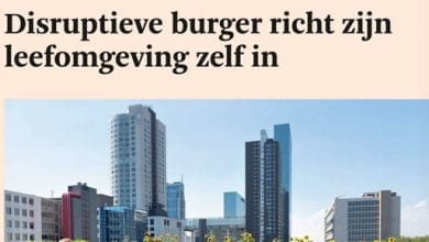 Photo of 'Disruptieve burger richt zijn leefomgeving zelf in' (FD Outlook, 08-08-'15)