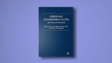 Photo of 'Observing Government Elites' van o.a. Paul 't Hart en Mirko Noordegraaf