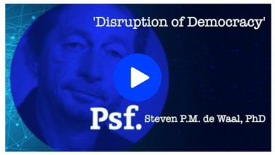 Photo of The (threatening) Disruption of Democracy – video